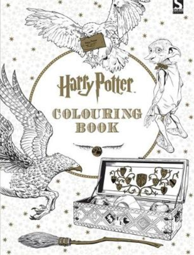 Harry Potter Colouring Book, Brothers, Warner, Used; Good Book