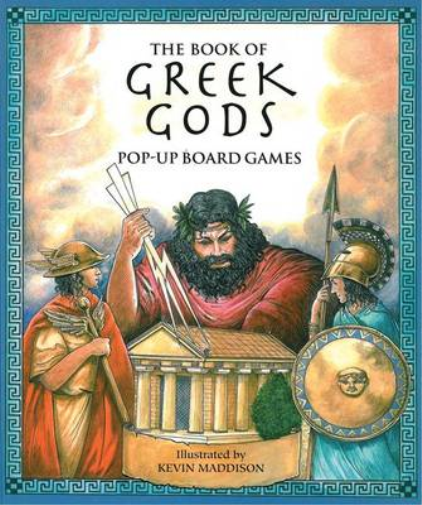 The Book of Greek Gods: Pop-Up Board Games, , Used; Good Book